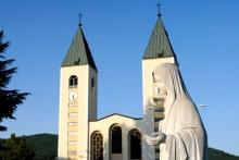 Medjugorje, Anniversario Apparizioni 2019: Statua Regina della Pace (8)