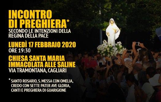 Incontro Preghiera Amici Medjugorje Sardegna 17 Febbraio 2020