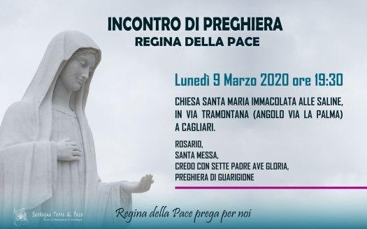 Incontro Preghiera Amici Medjugorje Sardegna 9 Marzo 2020