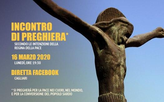 Incontro Preghiera Amici Medjugorje Sardegna 16 Marzo 2020