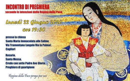 Incontro Preghiera Amici Medjugorje Sardegna 22 Giugno 2020