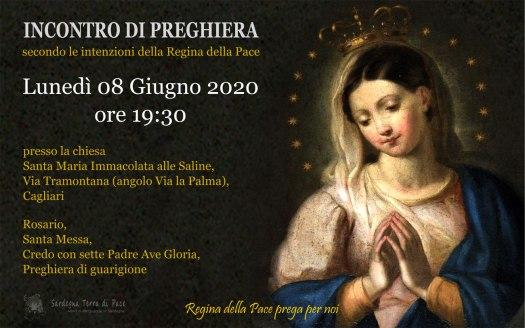 Incontro Preghiera Amici Medjugorje Sardegna 8 Giugno 2020