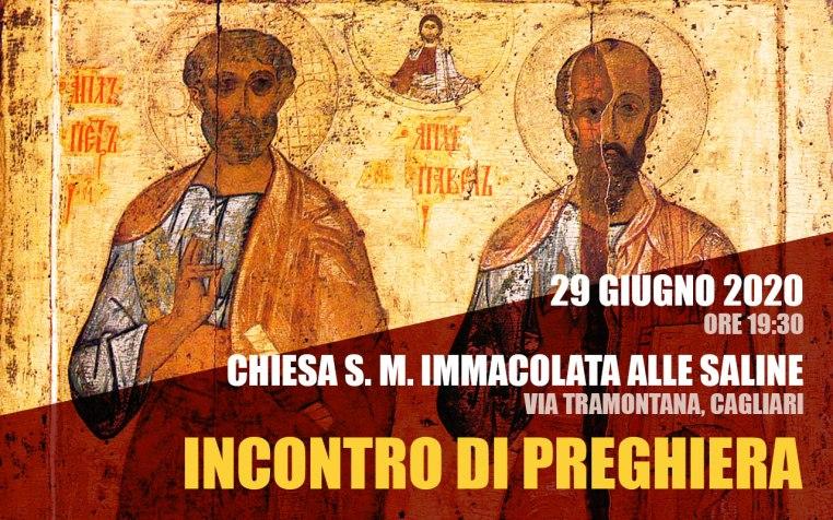 Incontro Preghiera Amici Medjugorje Sardegna 29 Giugno 2020