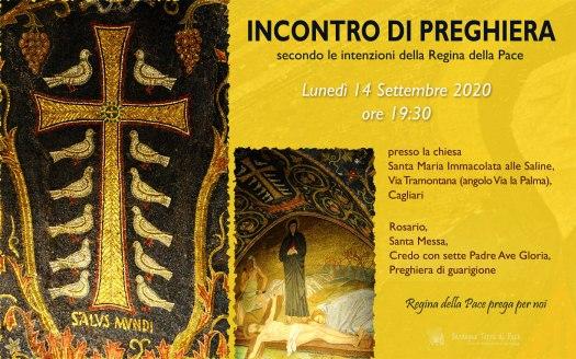 Incontro Preghiera Amici Medjugorje Sardegna 14 Settembre 2020