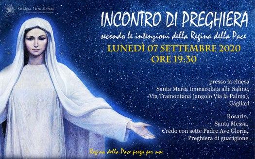 Incontro Preghiera Amici Medjugorje Sardegna 7 Settembre 2020