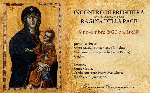 Incontro Preghiera Amici Medjugorje Sardegna 9 Novembre 2020