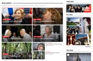 Area contenuto con blocco articoli in homepage e widget ADMIS