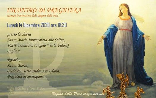 Incontro Preghiera Amici Medjugorje Sardegna 14 Dicembre 2020