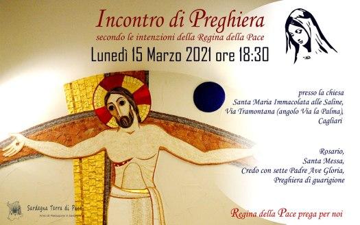 Incontro Preghiera Amici Medjugorje Sardegna 15 Marzo 2021