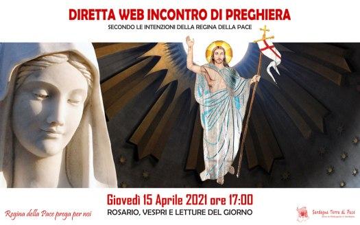 Diretta Incontro Preghiera 15Apr2021