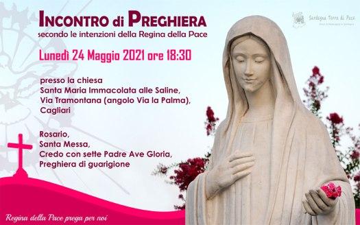 Incontro Preghiera Amici Medjugorje Sardegna 24 Maggio 2021