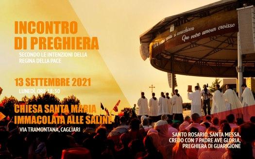 Incontro Preghiera Amici Medjugorje Sardegna 13 Settembre 2021
