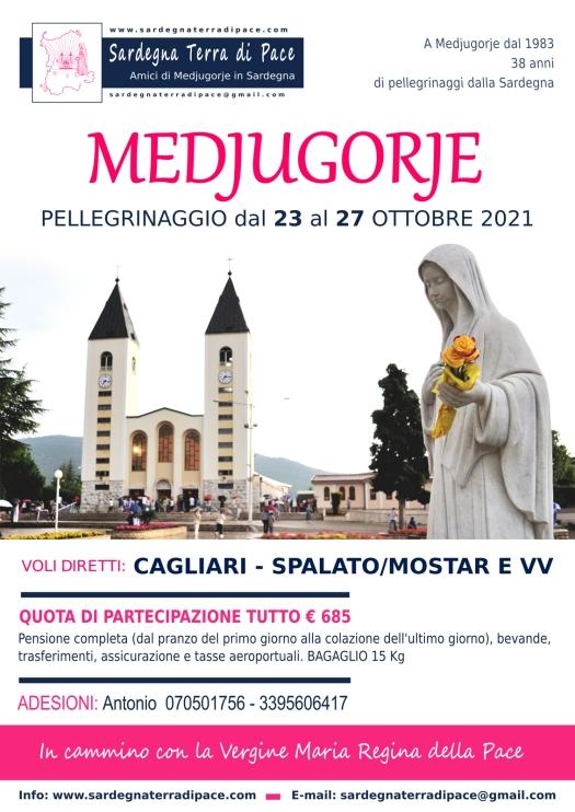Pellegrinaggio Medjugorje Ottobre 2021
